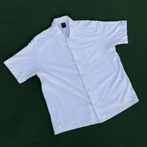 Early 2000s Nike Challenge Court Tennis Button Up